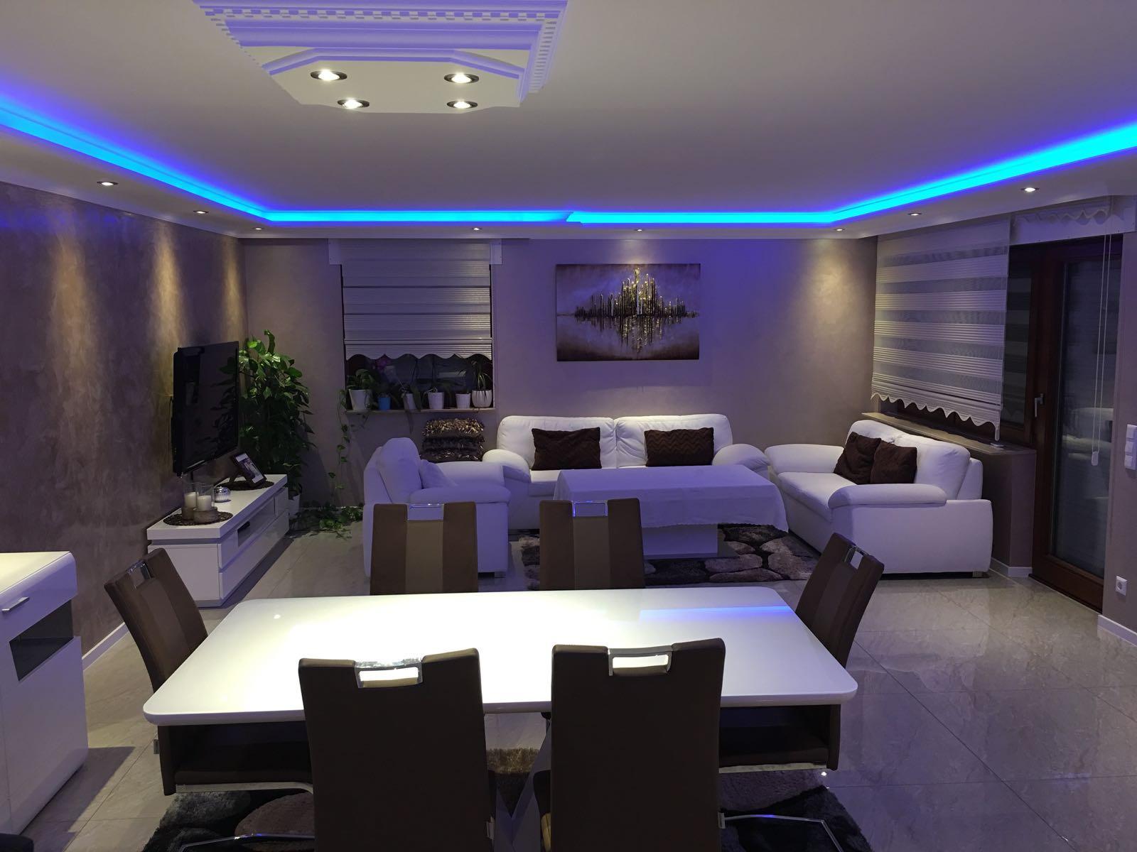 indirekte led beleuchtung aydin stuck. Black Bedroom Furniture Sets. Home Design Ideas