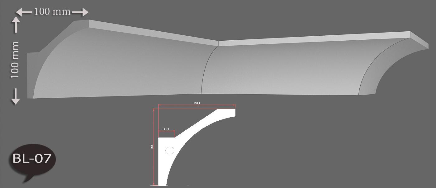 1 meter indirekte beleuchtung led lichtprofile wand & decken ...